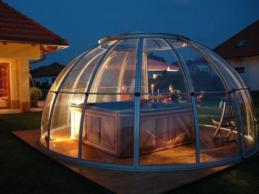 Dome spa relaxcentrum - Whirlpool pavillon ...