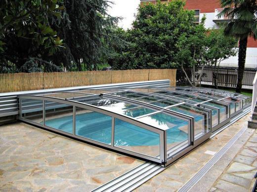Zwembad overkapping relaxcentrum - Outdoor decoratie zwembad ...