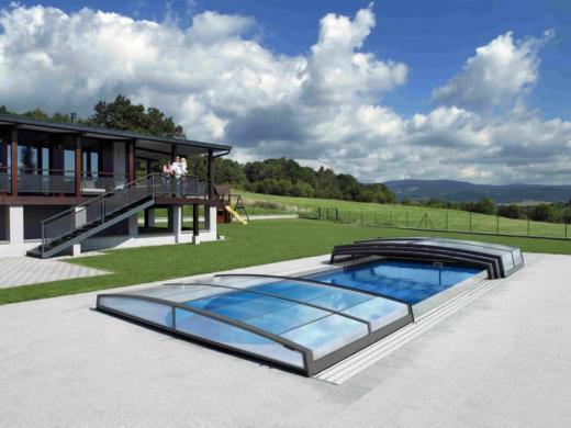 Zwembad overkapping relaxcentrum for Zwembad overkapping